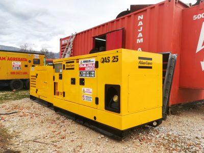 najam agregata 25 kVA