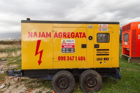 najam agregata 100 kVA