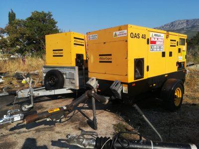 mobilni dizel agregat 48 kVA