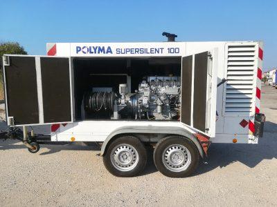 dizel agregat 100 kVA Polyma Super Silent